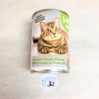 JOLLY CAT 400G PREMIUM Chunky Fish and Flaked Snapper in Prawn Jelly