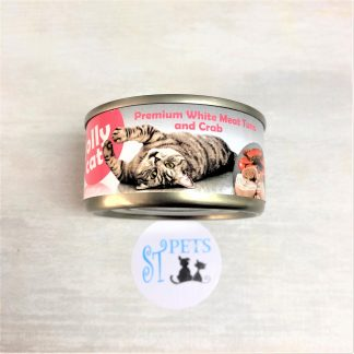 JOLLY CAT PREMIUM 80G WHITE MEAT TUNA and Crab